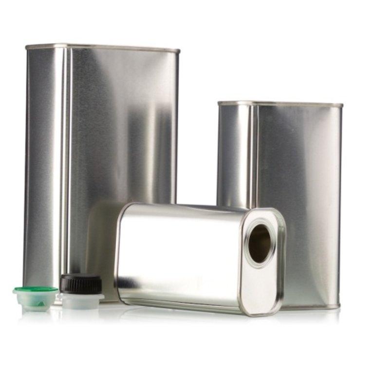 Öldose 500mll, innen und außen blank