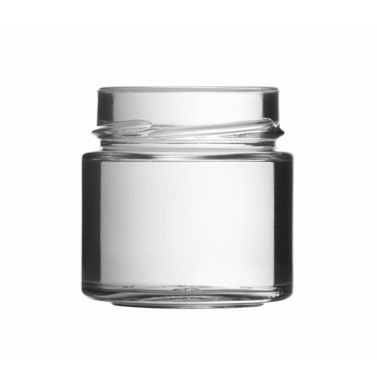 FACTUM Schraubglas 125ml, Weißglas, Mdg.: TO58De