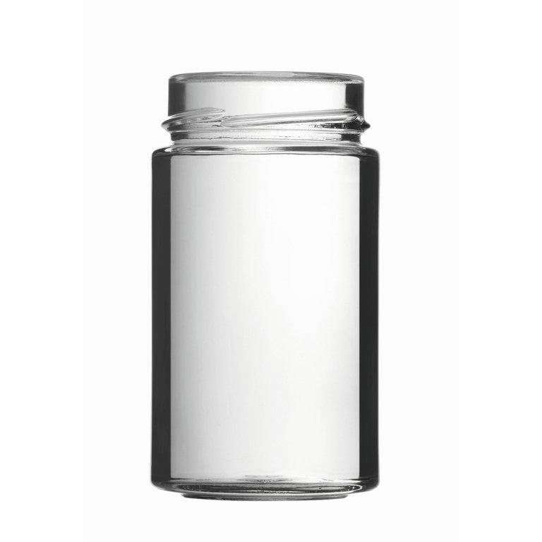 FACTUM Schraubglas 245ml, Weißglas, Mdg.: TO58De