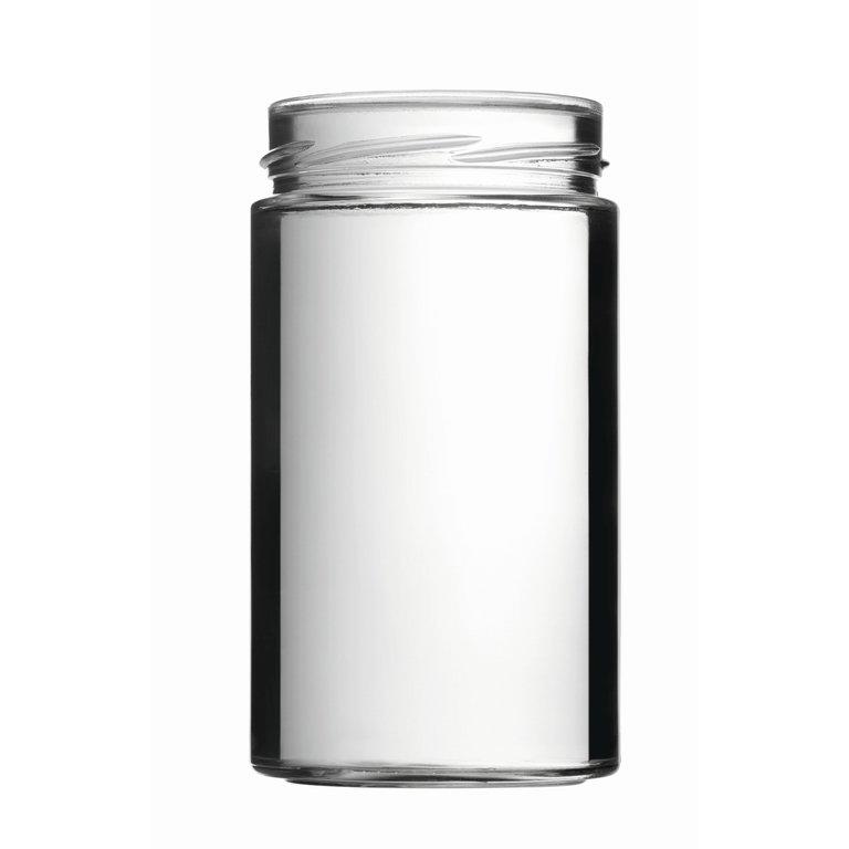 FACTUM Schraubglas 720ml, Weißglas, Mdg.: TO82De