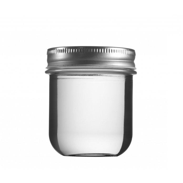 VITA jar 220ml, white, finish: Twister70 (carton)
