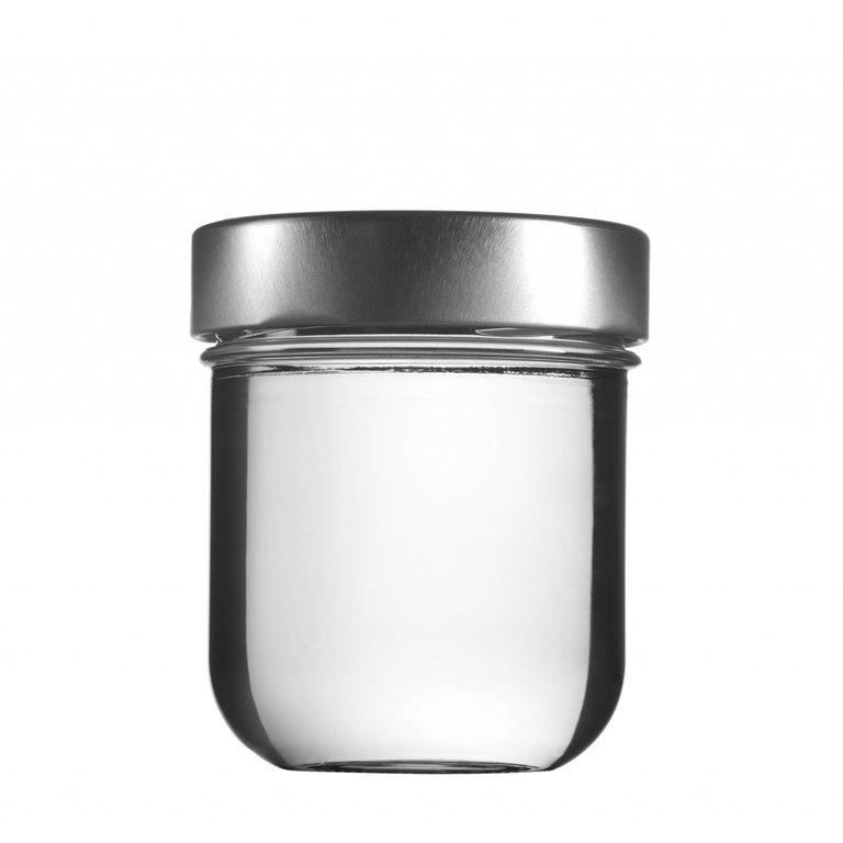 VITA Schraubglas 225ml, Weißglas, Mdg.:  TO70De