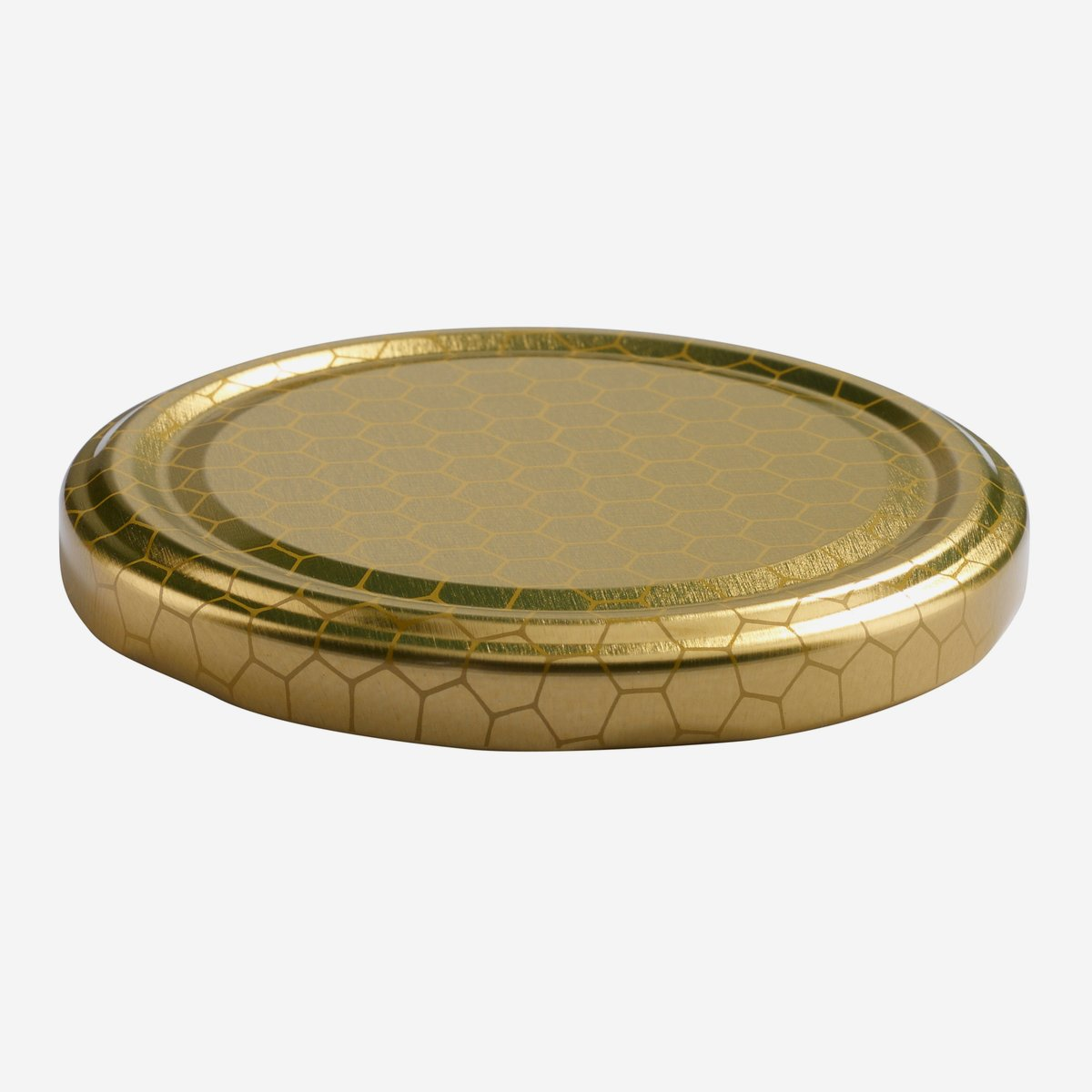 twist off deckel 82mm gold mit wabendekor karton online bestellen. Black Bedroom Furniture Sets. Home Design Ideas