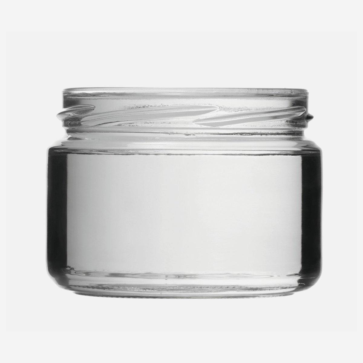 schraubglas 282ml wei glas mdg to82 karton online bestellen. Black Bedroom Furniture Sets. Home Design Ideas