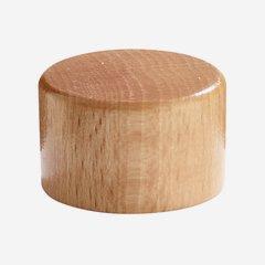 Alu-Holz Verbundverschluss 31,5 mm, natur-lackiert
