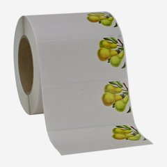 Label 114x55mm, pear
