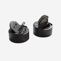 Flip Top Verschluss mit 2 Öffnungen, schwarz