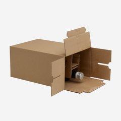 Karton für 6 Flaschen Dor-500  L192 x B133 x H285m