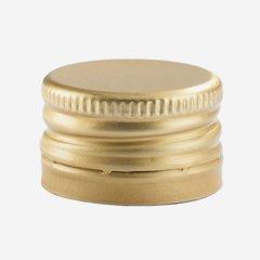 Pilferproof Aluverschluss 24mm, gold