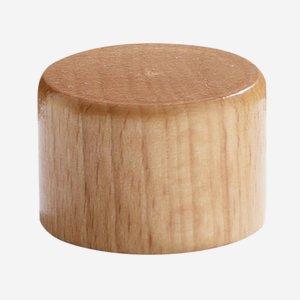 Alu-Holz Verbundverschluss 28 mm, natur-lackiert