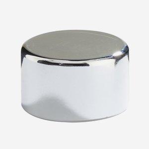 Alu-Kunststoff Verbundverschluss 28 mm, silber