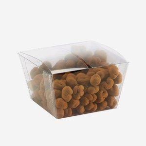 Clear Box Schachtel rechteckig, Seiten konisch