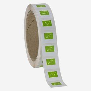 Grünes EU LOGO, 17x23mm