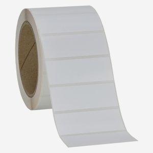 Etikette 25x69mm, weiß