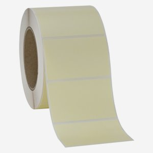 Etikette 50x80mm, creme light