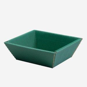 Geschenkschale Außenwelle, grün, klein