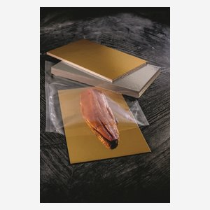 Gold and Silver Foil laminated cardboard