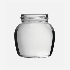 Sapore Schraubglas 212ml, Weißglas, Mdg.: TO58