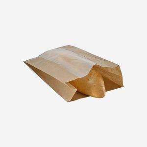 Sichtfensterseitenfaltenbeutel 3kg, 100% Papier