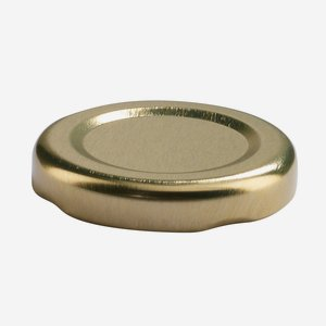 TWIST-OFF DECKEL, ø43mm, gold