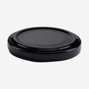 TWIST-OFF DECKEL, ø53mm, schwarz