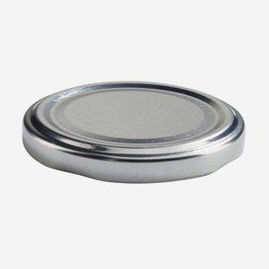 TWIST-OFF DECKEL, ø63mm, silber