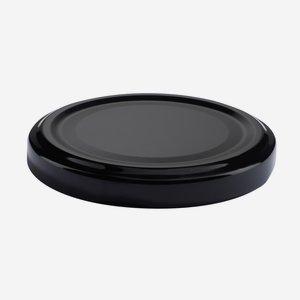 TWIST-OFF DECKEL, ø63mm, schwarz