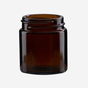 Cremetiegel 30 ml, Braunglas, Mdg.: BAK-38S