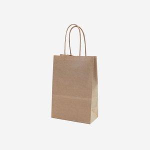 Minibag Geschenktasche&Kordel, braun220/140/70