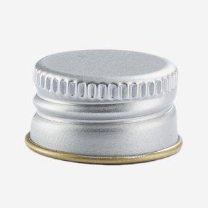 Aluschrauber 18 mm, silber