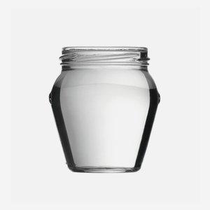Schraubglas 212ml, Weißglas, Mdg.: TO63