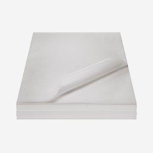 Fettpapier unbedruckt, 1/4 Bogen, 370 x 500mm