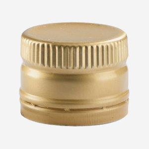 Anrollverschluss deep ø31,5 x H24mm, gold