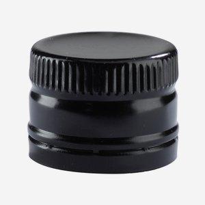 Anrollverschluss deep ø31,5 x H24mm, schwarz