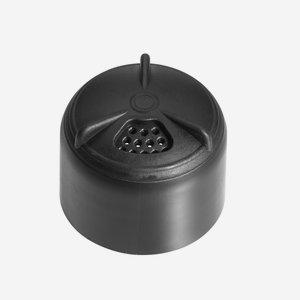 Essenzglas Verschluss ø31,5mm, schwarz mit Streuer