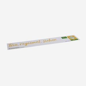 """Etiketten für Gemüsesteigen, """"Bio Austria"""""""