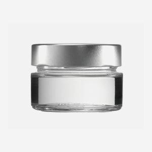 FACTUM Schraubglas 106ml, Weißglas, Mdg.: TO70De