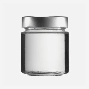 FACTUM Schraubglas 154ml, Weißglas, Mdg.: TO58De