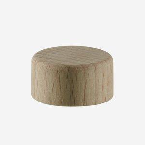 Holz-Alu-Schraubverschluss GPI 22, natur