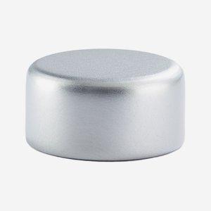 Alu-Kunststoff-Schraubverschluss GPI 22, silber