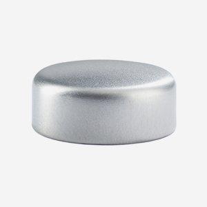Alu-Kunststoff-Schraubverschluss GPI 28, silber