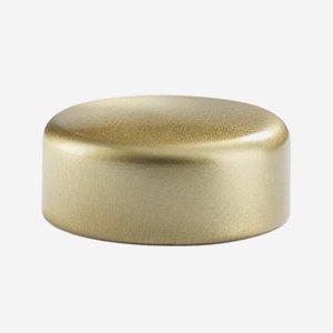 Alu-Kunststoff-Schraubverschluss GPI 33, gold