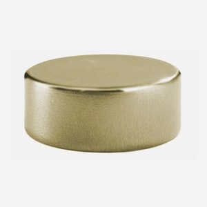 Alu-Kunststoff-Verschluss GPI 28 flach, gold