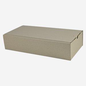Geschenkkarton aus Graspapier 38x18x8,5cm