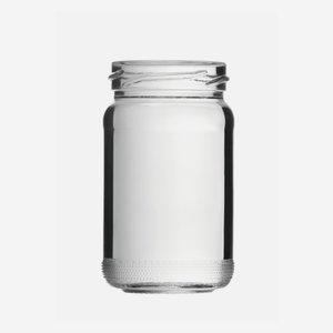 Schraubglas 106ml, Weißglas, Mdg.: TO48