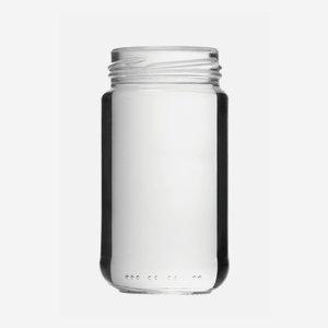 Schraubglas 212ml, Weißglas, Mdg.: TO53
