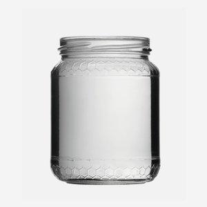 Honigglas Euro 390ml, Weißglas, Mdg.: TO70