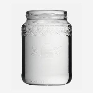 Honigglas Imkerbund 770ml, Weißglas, Mdg.: TO82