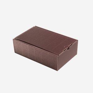 Geschenkkarton Außenwelle, rot, H26 x B16 x T8