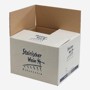 Verpackungskarton für 12 x 0,75l Steiermarkflasche